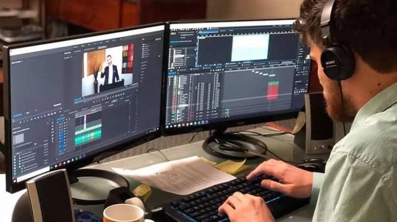 hombre computadoras video