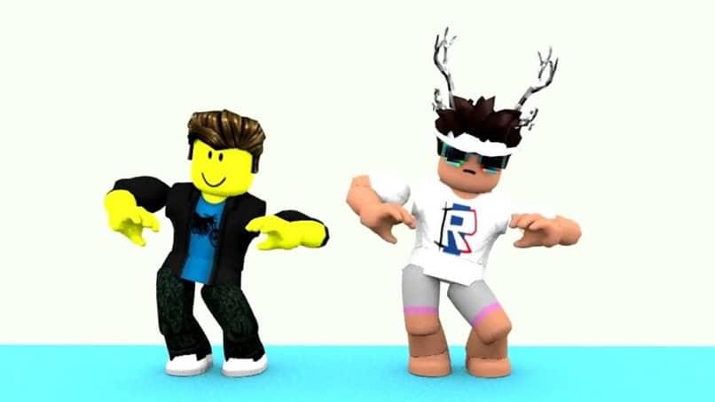 personajes de baile roblox