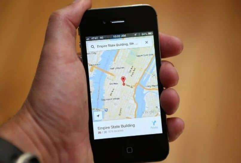aplicación google maps