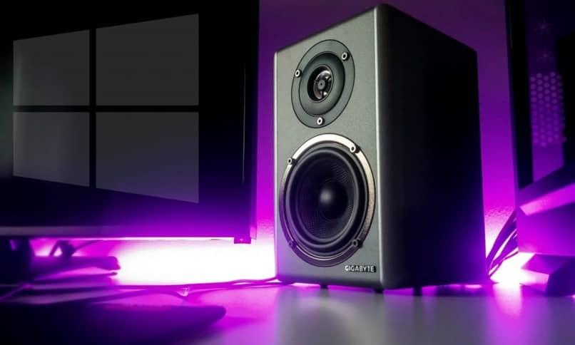 ventanas de sonido púrpura