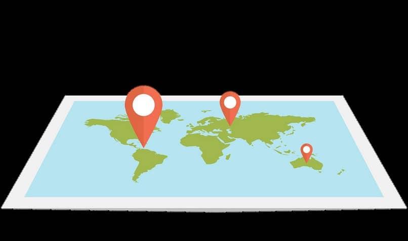 ubicación global