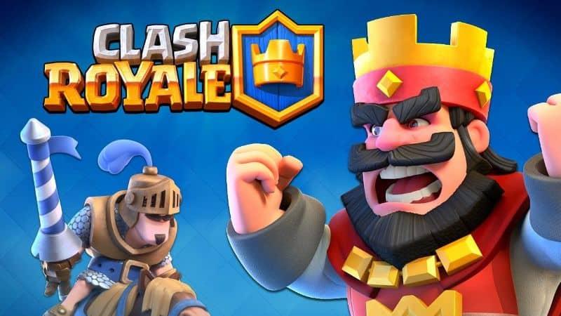 rey y príncipe de clash royale y logo