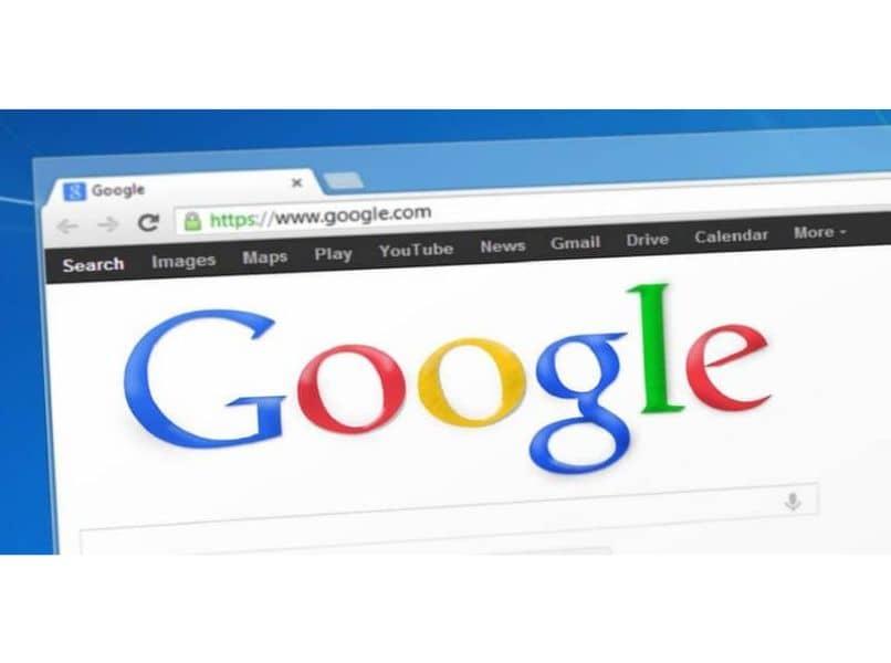 página de google chrome
