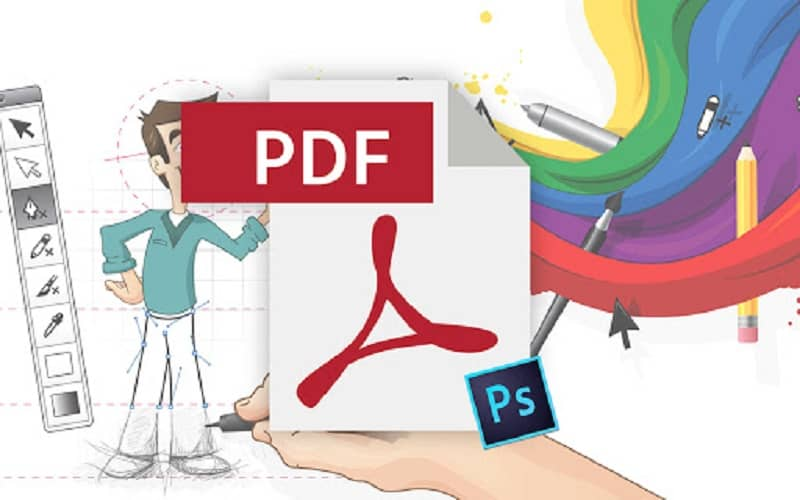 Photoshop guardar pdf