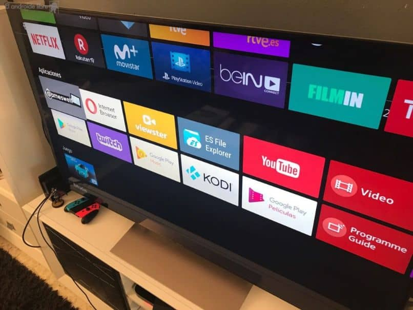 Capturas de pantalla de TV