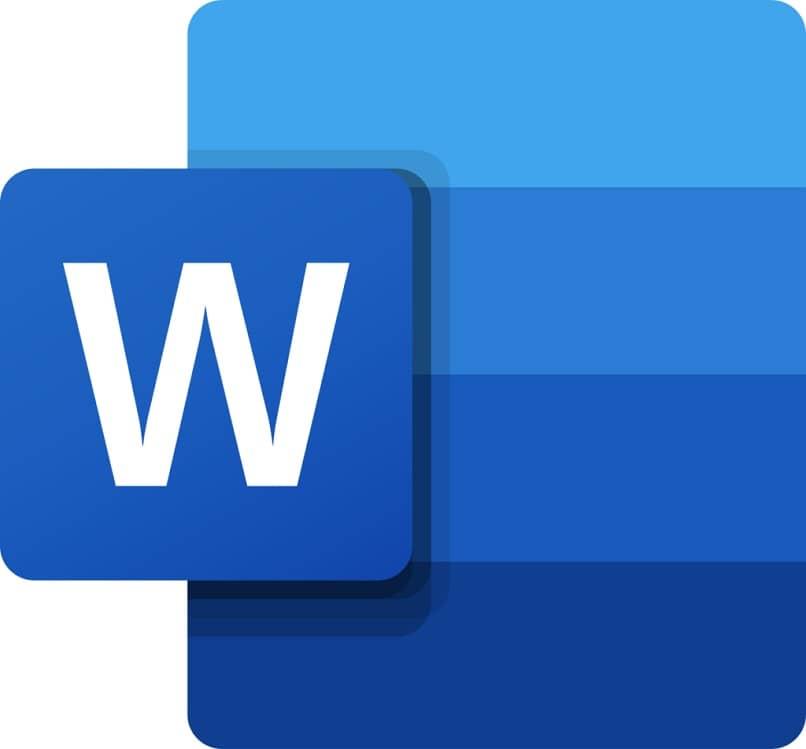 Logotipo de palabra azul