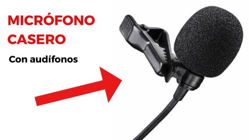 micrófono casero para video