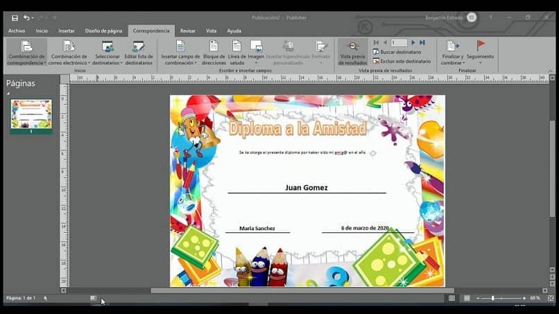 Cómo crear una tarjeta de invitación y carpetas en Microsoft Publisher
