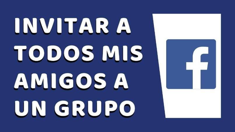 Invito a todos mis contactos a Facebook