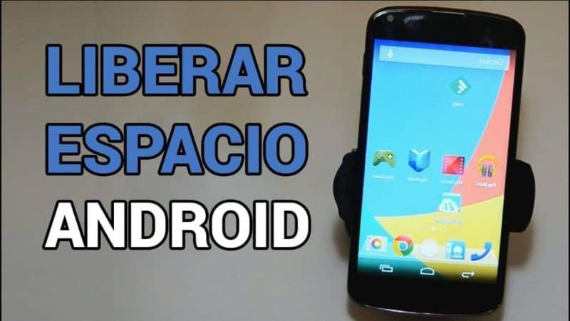 espacio libre en Android