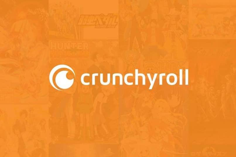 fondo naranja crunchyroll