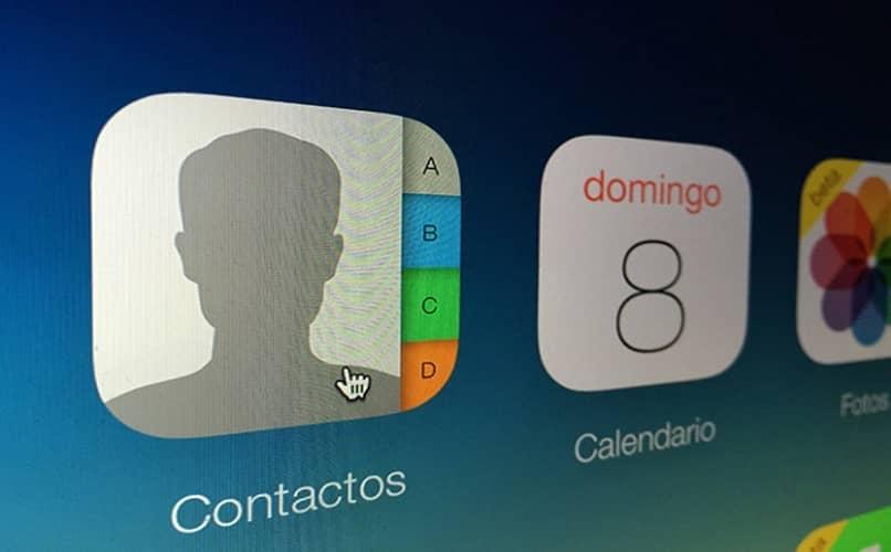 icono de contacto de Apple