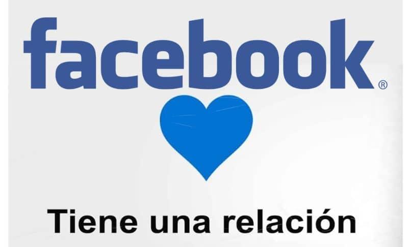 facebook logo corazon azul fondo gris