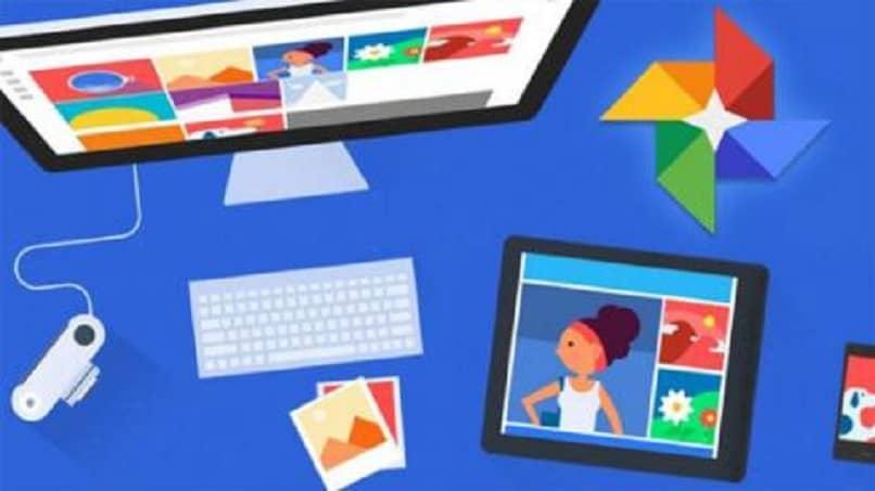 fotos y videos de Google Photos en PC y dispositivos móviles