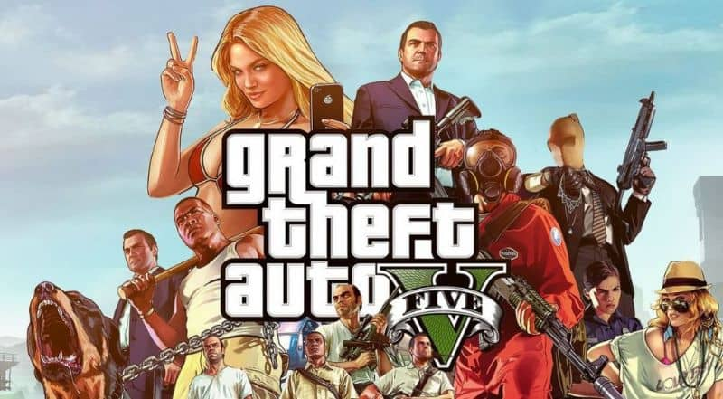 videojuego gta v
