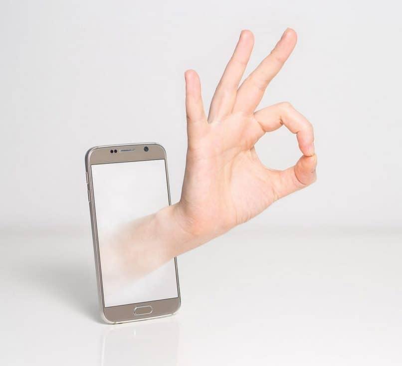 ok señal móvil