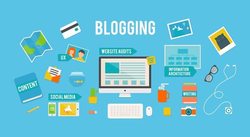 funciones web bloggin