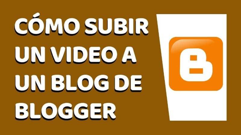 Subir un video al blog de Blogger