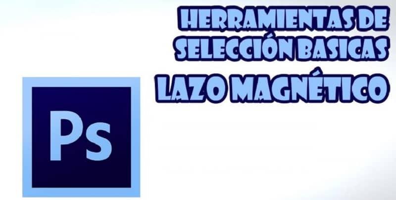 Herramienta de logotipo de lazo magnético Ps