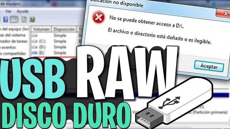 Recupere archivos de USB o disco duro en formato RAW sin formatear