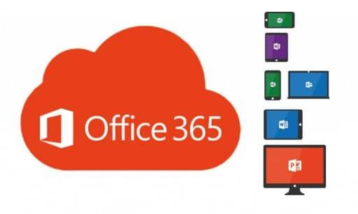 Microsoft Office 365 en diferentes dispositivos