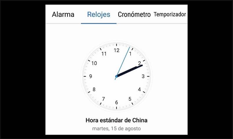 Temporizador de alarma