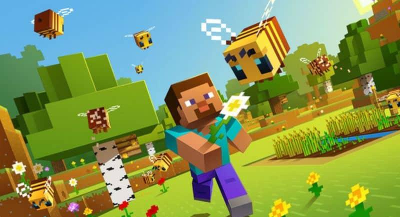 Fondo de Minecraft Running Man