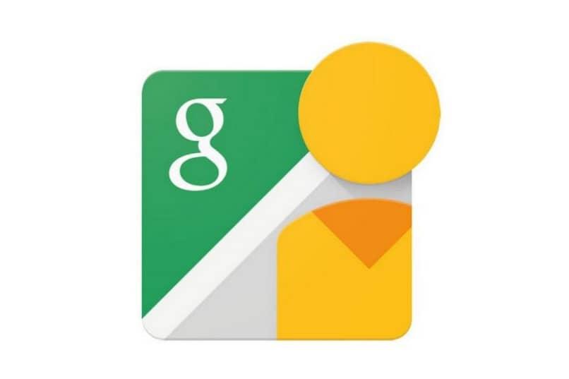 Fondo blanco del logo de Street View