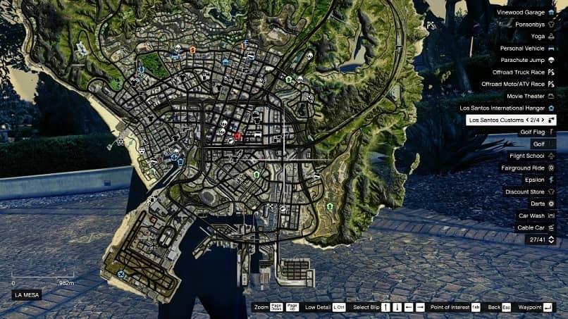 mapa satelital gta 5