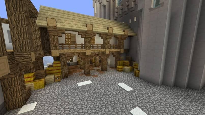 casa de minecraft