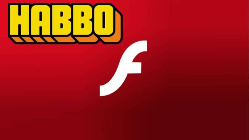 haboo hotel logo adobe flashplayer fondo rojo