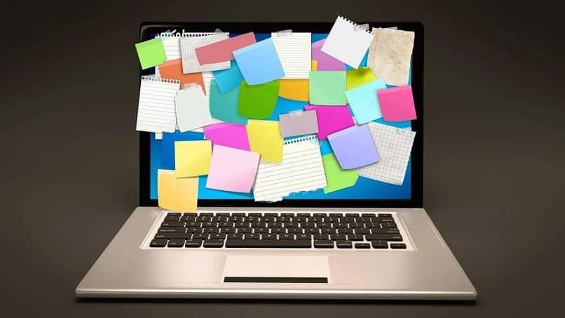 Crea notas en el escritorio de Windows 10