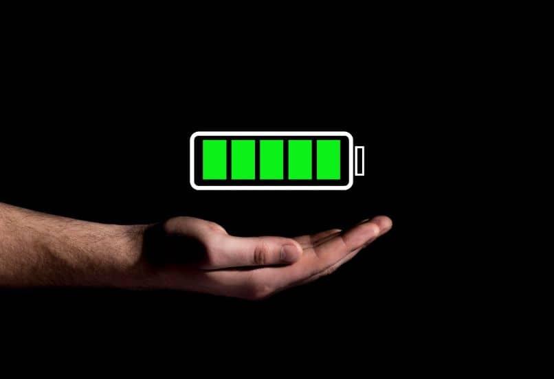batería móvil completa