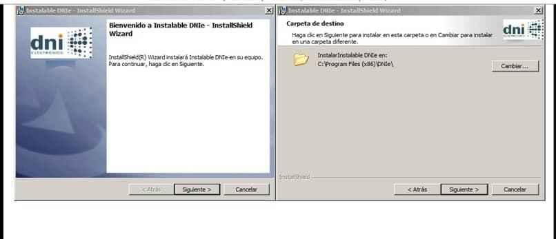 Instale el software DNI