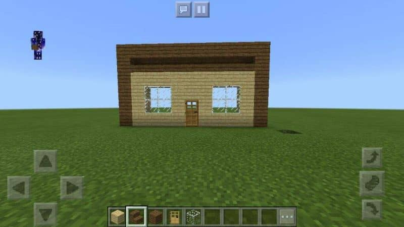 casas de madera minecraft videojuego