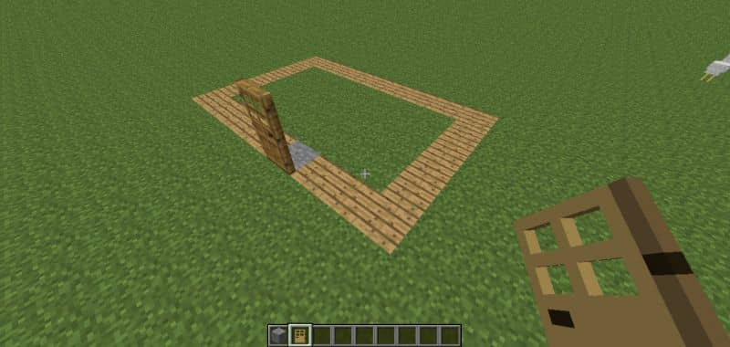 diseño de la casa de Minecraft