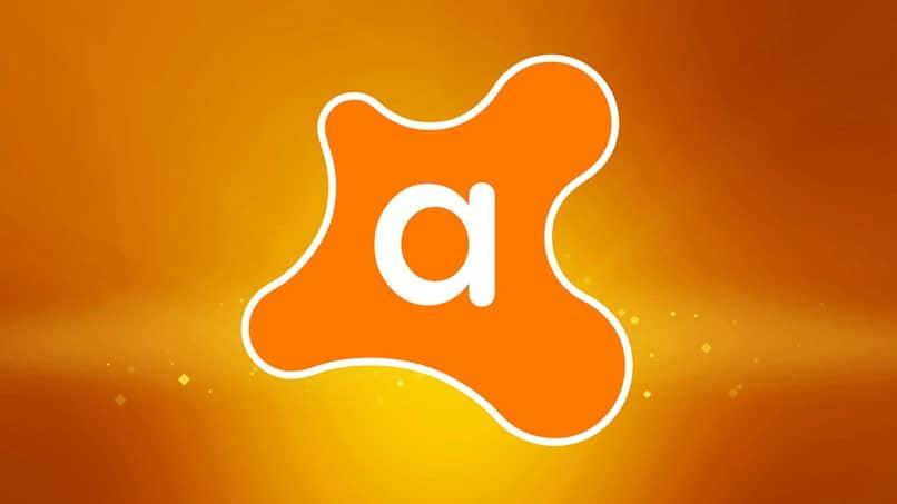 icono avast naranja