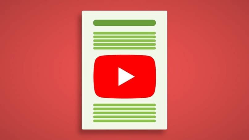 símbolo de hoja de youtube blanco