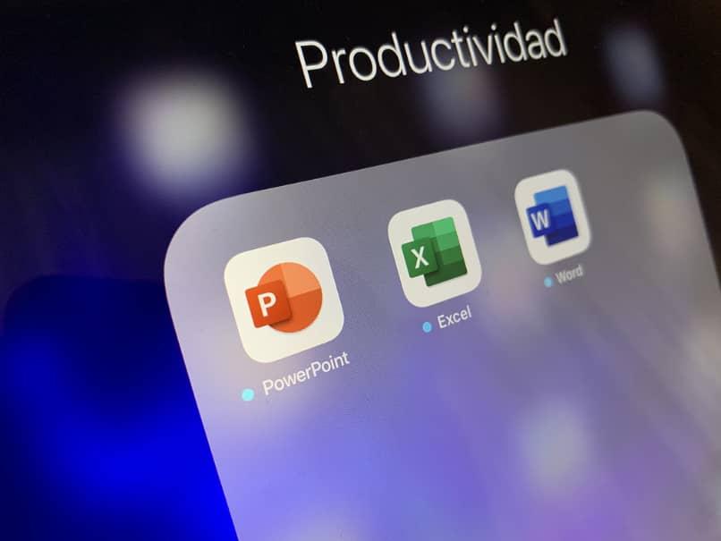 Aplicaciones de productividad móvil