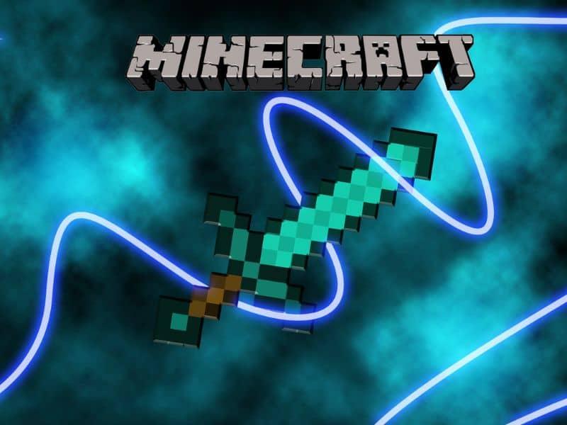 Minecraft hizo espada