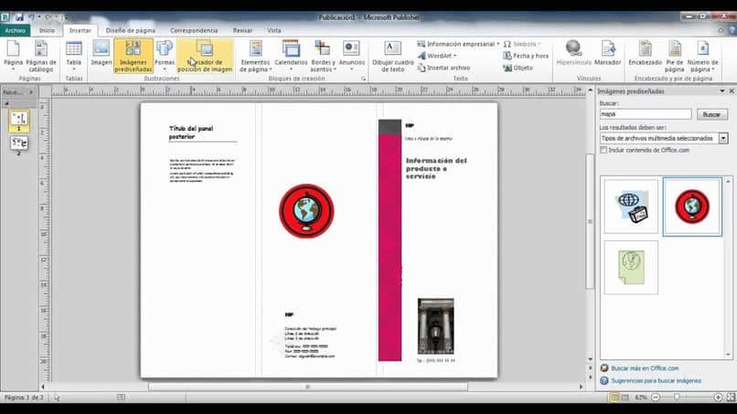 Publicación de Microsoft Publisher
