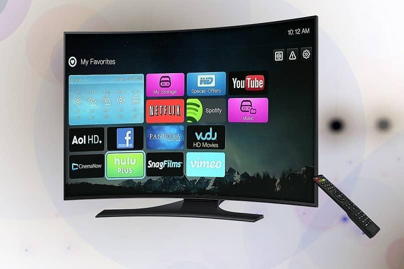 Opciones de canal ofrecidas por Chromecast