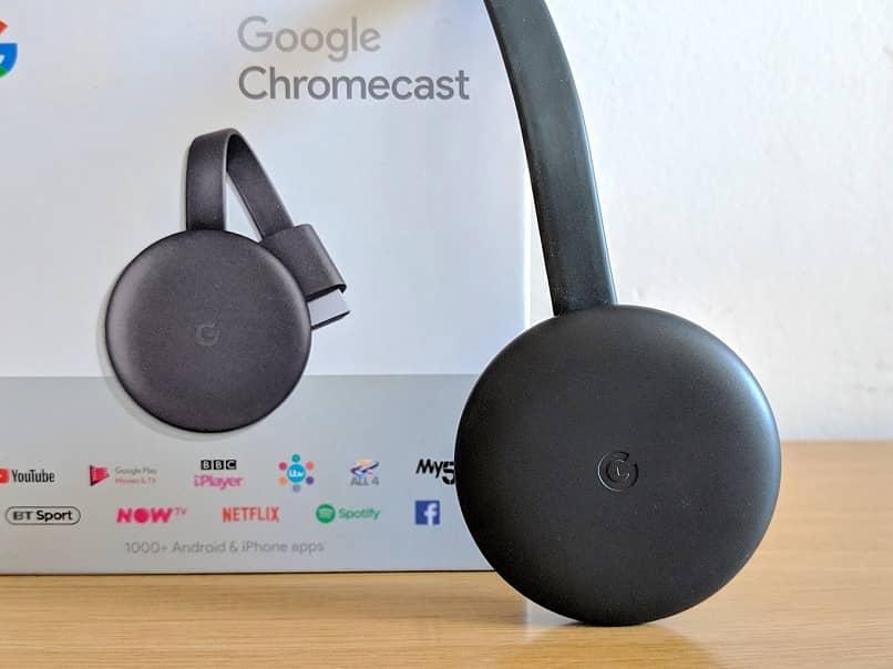 Dispositivo Chromecast