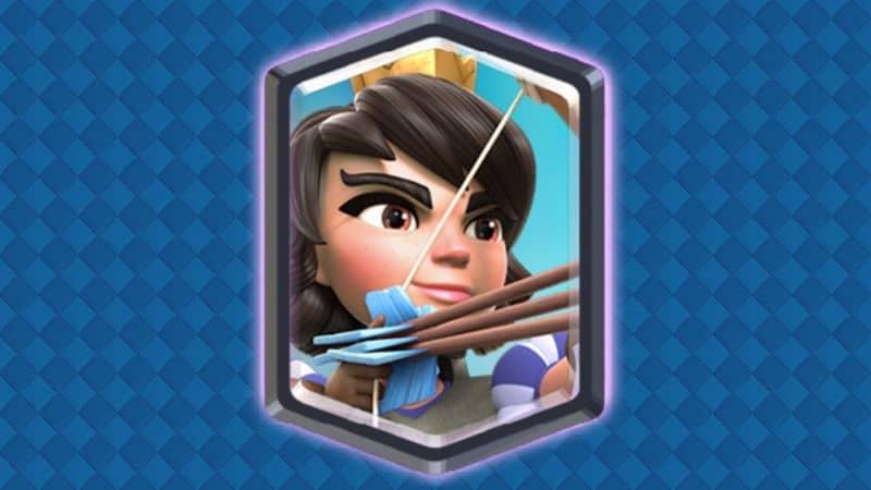 Princesa carta de clash royale