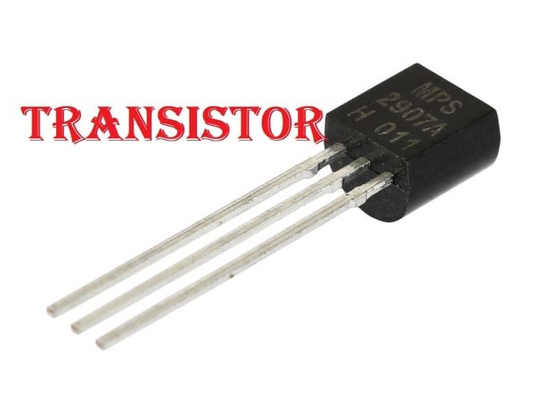 Pequeño transistor artificial