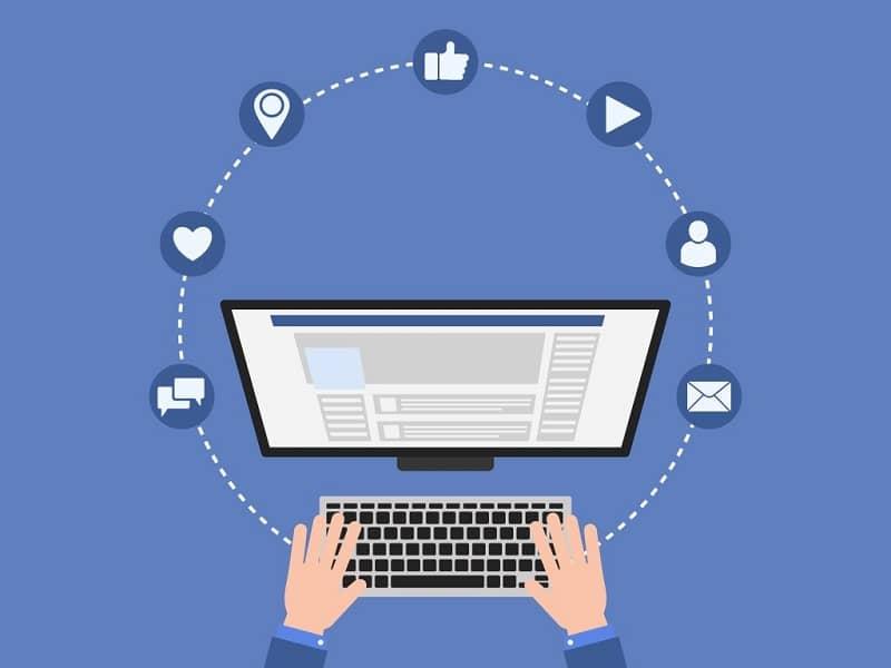 Diferentes usos de Facebook