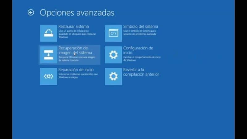 Ventana CMD azul en Windows 10
