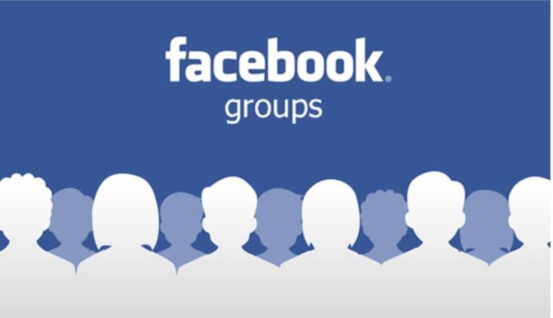 siluetas del equipo de facebook
