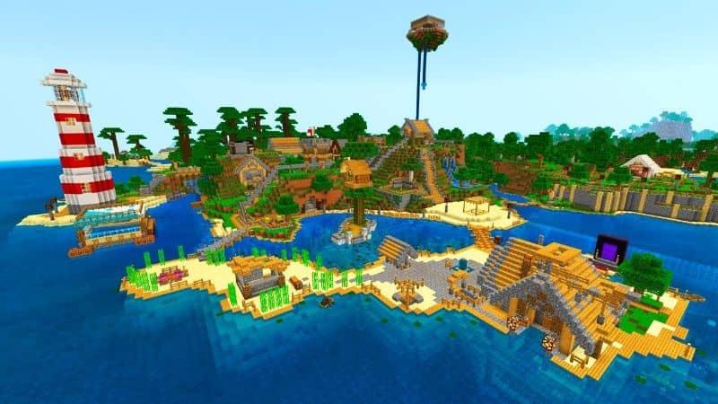 Minecraft Ciudad