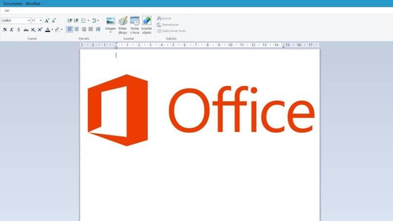 página de la oficina del logotipo